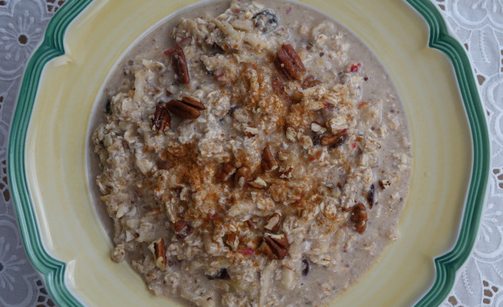 Bircher Muesli by Chrissie Tarbitt