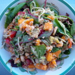 Integrated Wellbeing, Food Matters, Sweet Potato, Quinoa, Salad