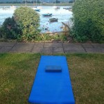 integrated wellbeing, outdoor yoga
